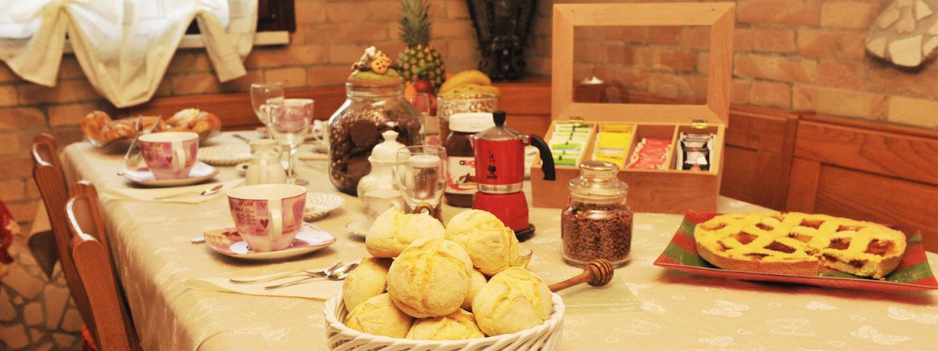 La Colazione - Il Focolare Bed and Breakfast
